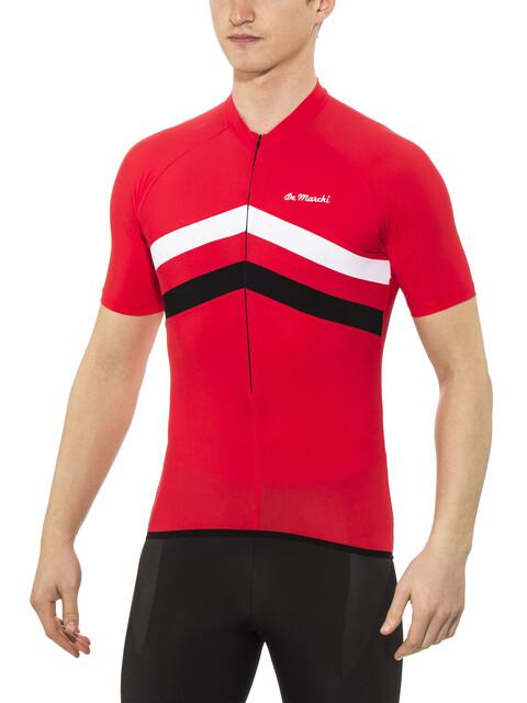 De Marchi Superleggera Kortærmet cykeltrøje Herrer rød